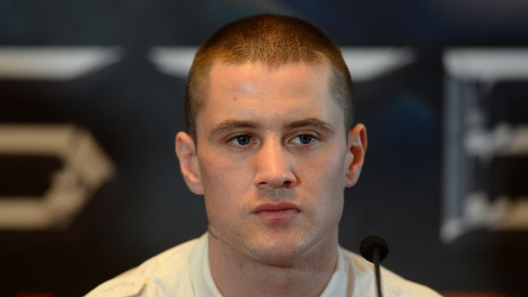 Ricky Burns is in for a tough night, says Josh King