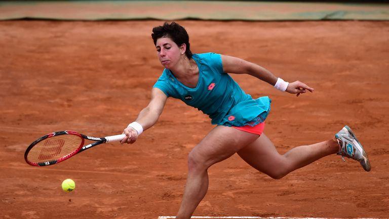 Carla Suarez Navarro: The Spaniard will meet Maria Sharapova in Sunday's final