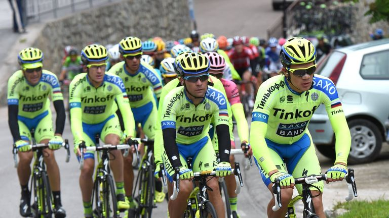 Tinkoff-Saxo's squad is light on cobbles experts