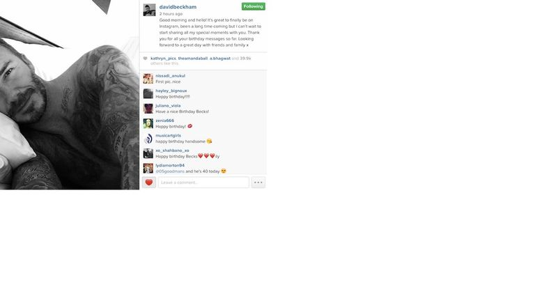 #DB40 received lots of birthday messages from his celebrity friends on Instagram