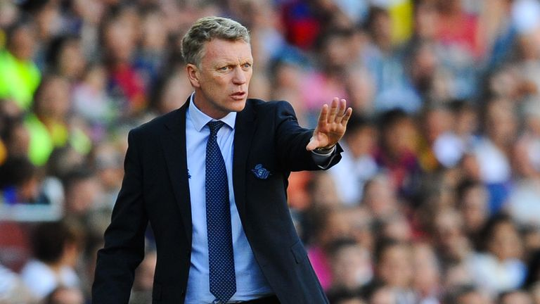 David Moyes moved to Real Sociedad in November 2014 following a torrid spell at Manchester United