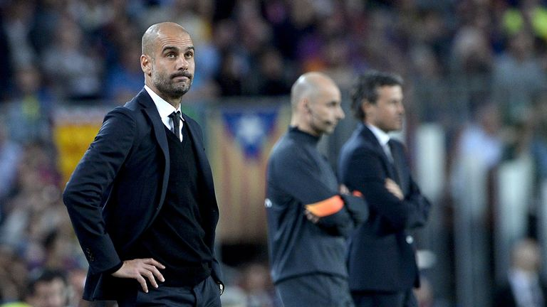 Pep Guardiola was back at Barcelona for the first time as an opponent