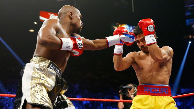 Mayweather has beaten all-comers, including Manny Pacquiao