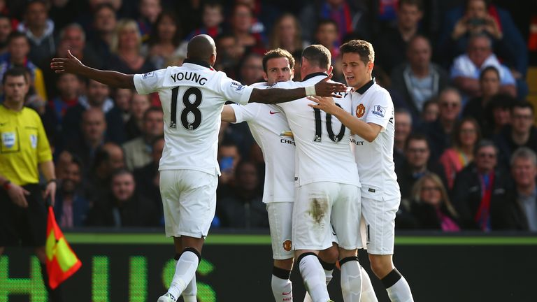 Manchester United saw off Crystal Palace 2-1 on SNF