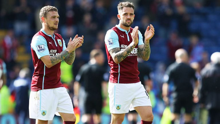 Burnley were relegated this year after one season in the Premier League