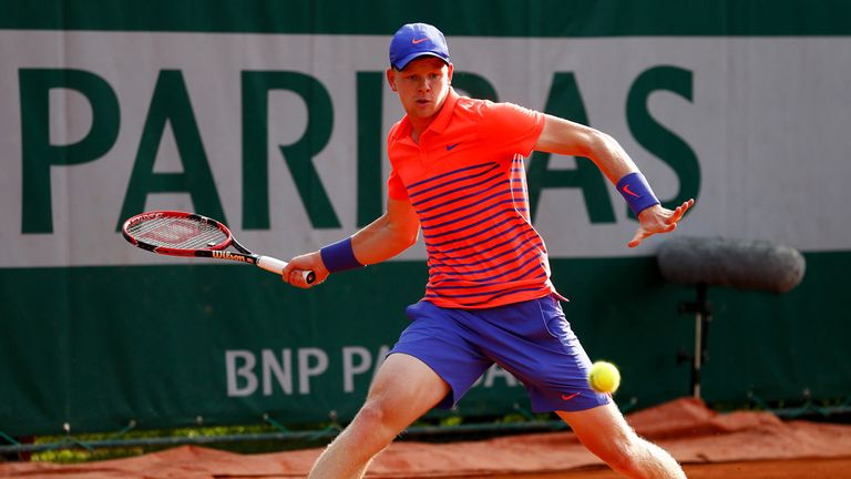 Kyle Edmund: Made an impression at Roland Garros this year