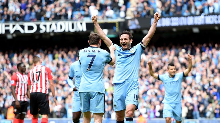 Frank Lampard: Opened the scoring for City on his last Premier League appearance