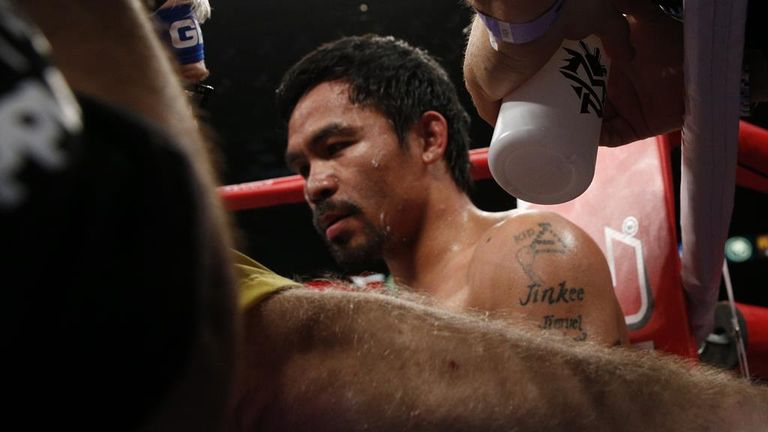 Manny Pacquiao: Sued over shoulder injury