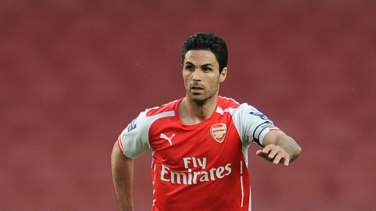 Mikel Arteta was re-positioned as a holding midfielder by Arsene Wenger
