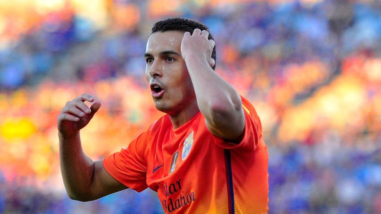 Barcelona have received no offers for Pedro, according to club president Josep Bartomeu
