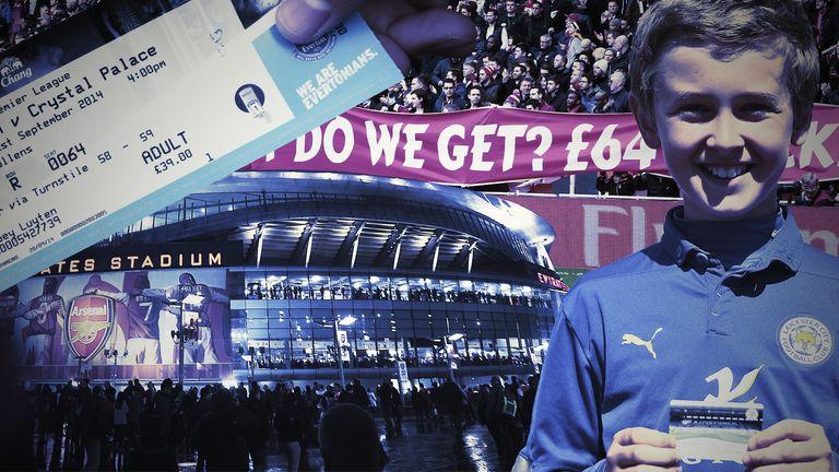 Premier League season tickets