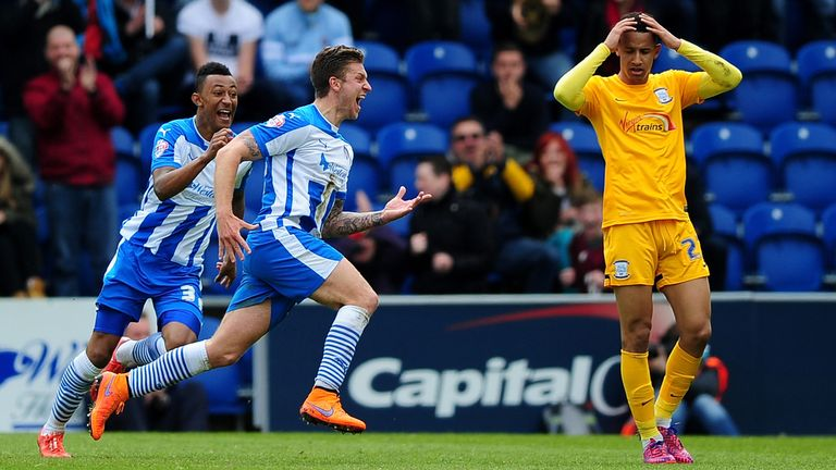 Moncur is continuing his fine form from last season, where he scored Colchester's winning goal in the vital 1-0 victory over Preston