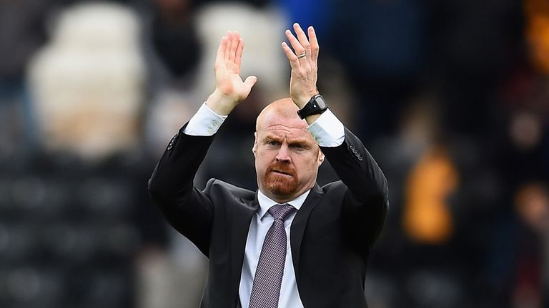 Sean Dyche leads the nominations for Championship manager of the month