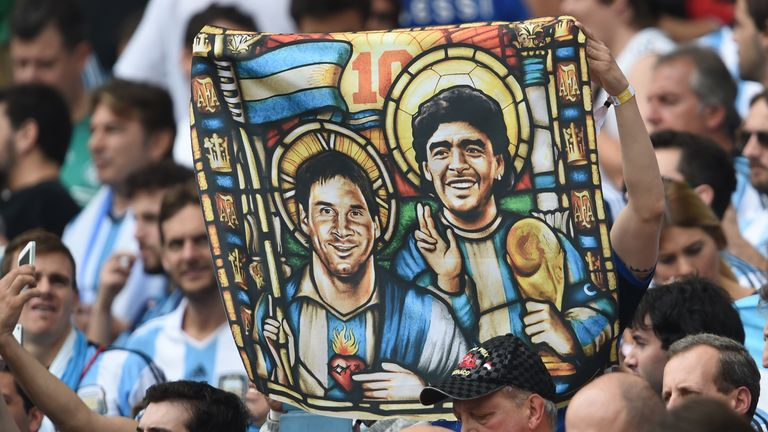 Does Lionel Messi need to win a World Cup to rank above Diego Maradona?