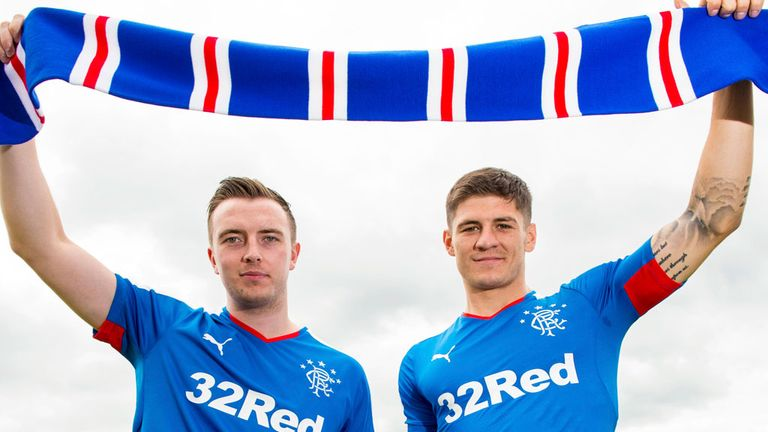 Danny Wilson and Rob Kiernan sign on at Rangers for three and two years respectively