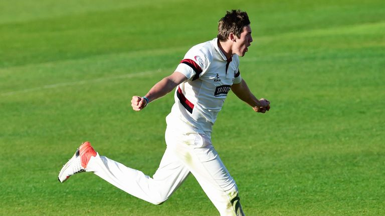 Jamie Overton's displays for Somerset have earned him an England call-up