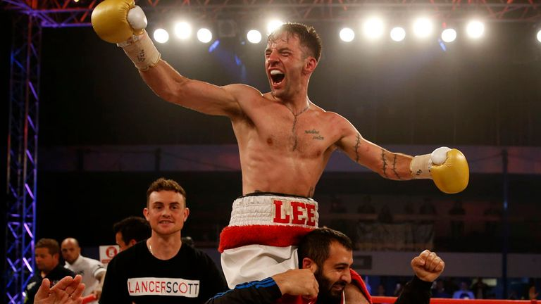 Lee Haskins is looking to move up from interim to full champion