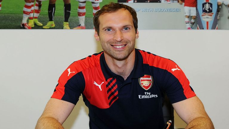 Petr Cech has signed a long-term contract at Arsenal following his £10m move from Chelsea