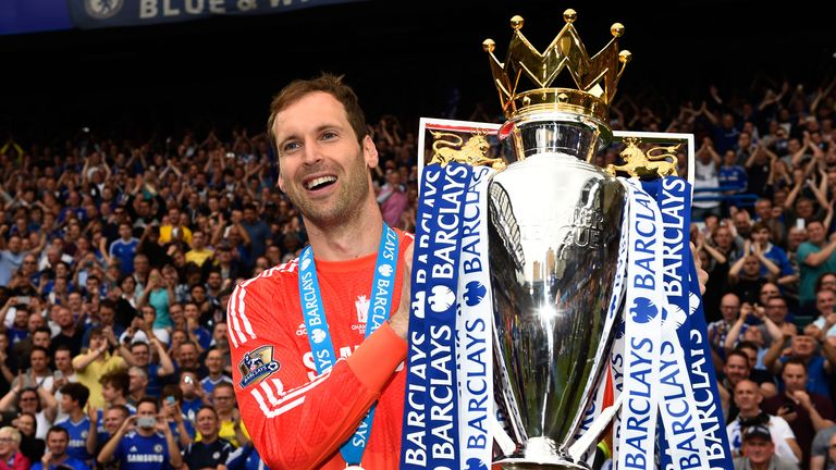 Cech won four Premier League titles during his trophy-laden Chelsea career