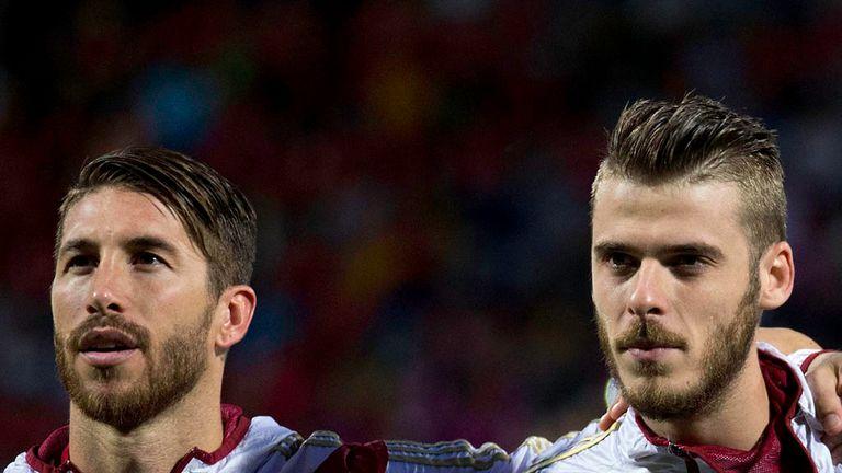 Sergio Ramos and De Gea could link up at Real Madrid next season