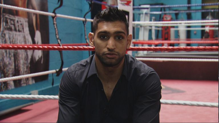 Khan says his team are talking terms with Manny Pacquaio