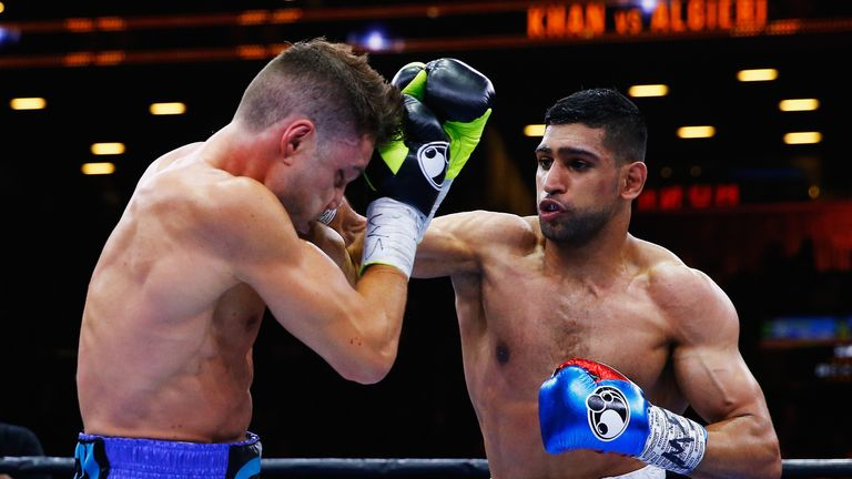 Amir Khan was last in action beating Chris Algieri