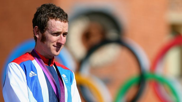 Wiggins won the Olympic time-trial title in 2012