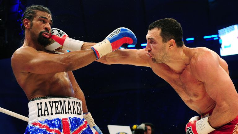 Haye blamed his one-side points defeat to Klitschko on a broken toe suffered in training in the build-up for the Hamburg clash