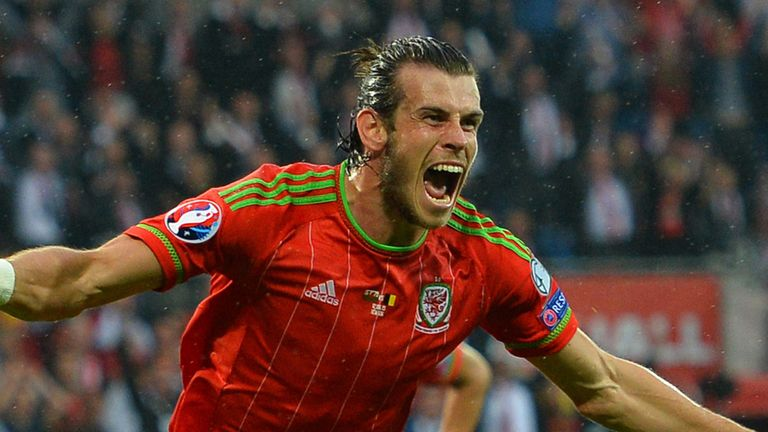 Gareth Bale's Wales are top seeds after their win over Belgium in June