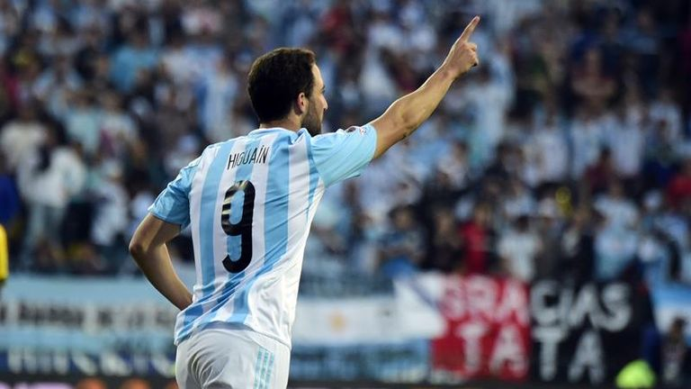 Gonzalo Higuain: Scored the only goal against Jamaica