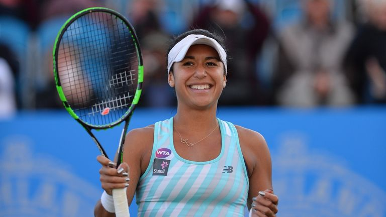 Heather Watson: Forced to wait for her opening match