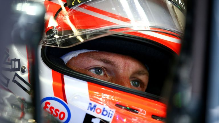 Button has only scored points in one race this year
