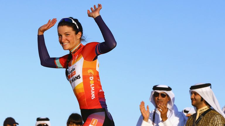 Boels-Dolmans rider Lizzie Armitstead heads into her home tour on the back of two wins from her last two races