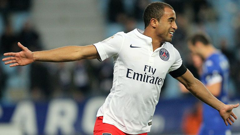 Lucas Moura agreed his move from PSG to Sao Paulo in 2012