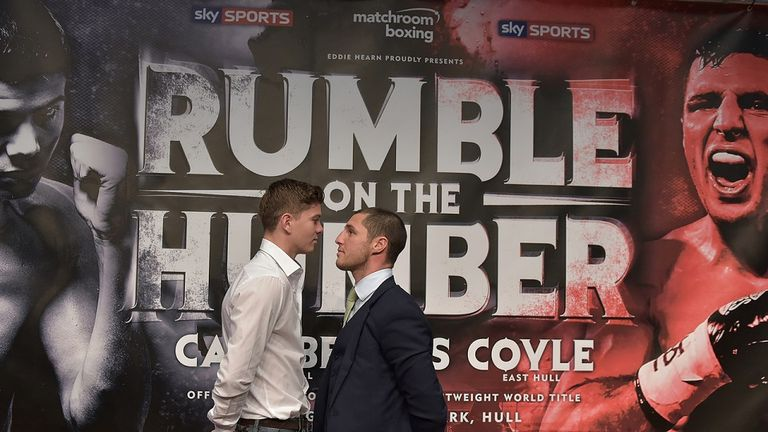 Luke Campbell and Tommy Coyle will fight live on Sky Sports