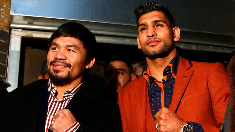 Khan is keen to face former stablemate Manny Pacquiao