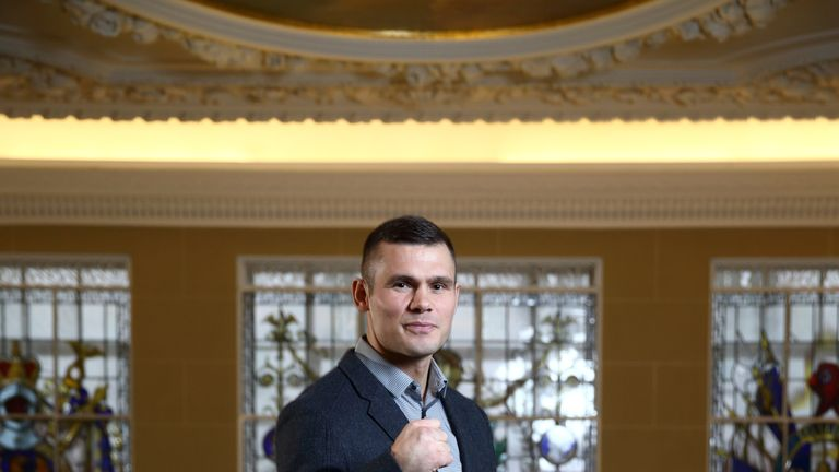 Martin Murray: Excited by step up to super-middleweight