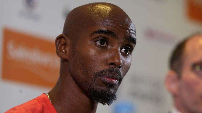 Mo Farah: Expected to return to competition in Monaco next month