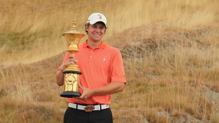 Peter Uihlein: Claimed victory here in 2010