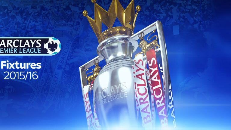 The Premier League fixtures for 2015/16 were released on Wednesday