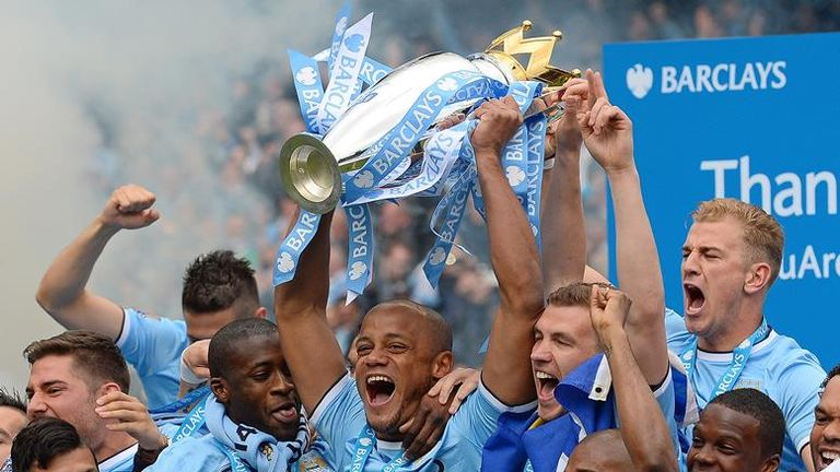 Manchester City won the Premier League in 2013/14