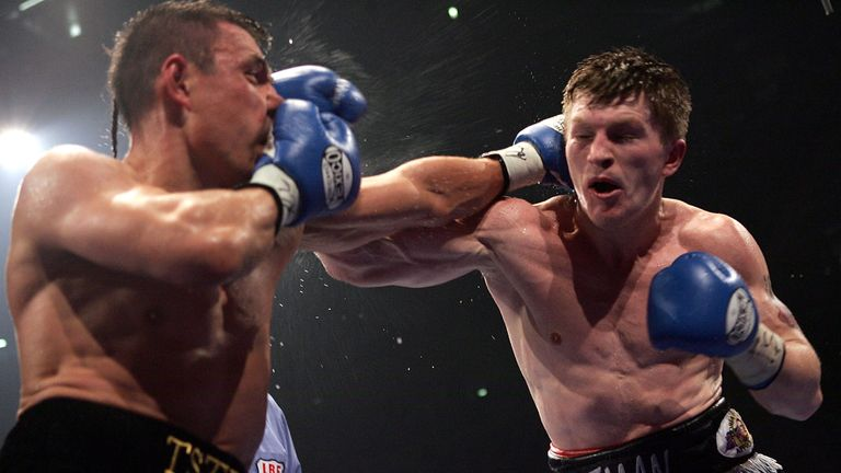 Kostya Tszyu was the favourite but Hatton somehow came through