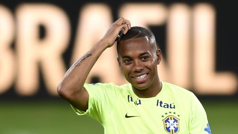 Robinho spent last season on loan at Santos from AC Milan