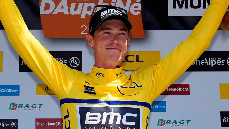 Rohan Dennis retained the overall lead of the Criterium du Dauphine
