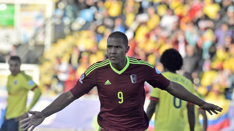 Salomon Rondon: Currently plays for Zenit St Petersburg