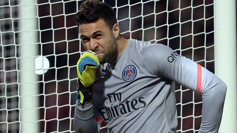 Salvatore Sirigu: Keen to stay at PSG