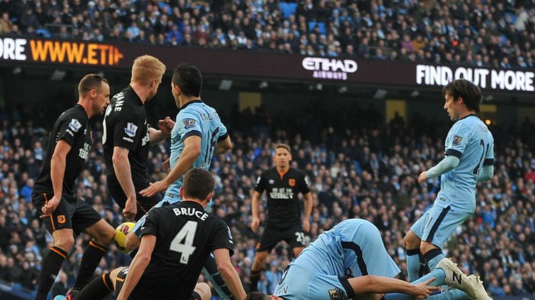 Nasri was plagued by injuries in the 2014/15 campaign