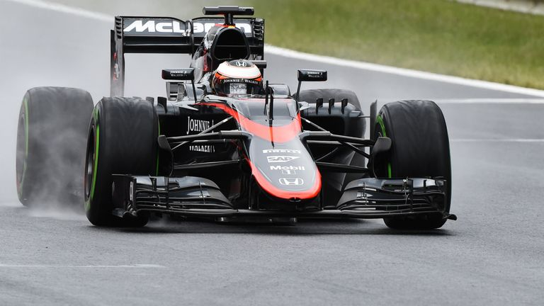 Vandoorne completed one day of testing for McLaren at the Red Bull Ring in June
