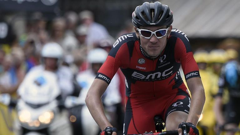 Tejay van Garderen was poised to finish on the podium at the Tour but had to pull out due to illness
