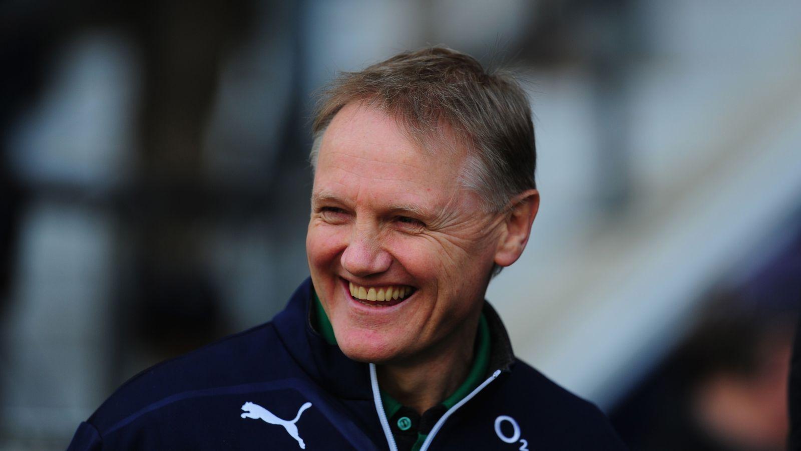 Ireland Coach Joe Schmidt Happy To Have Selection